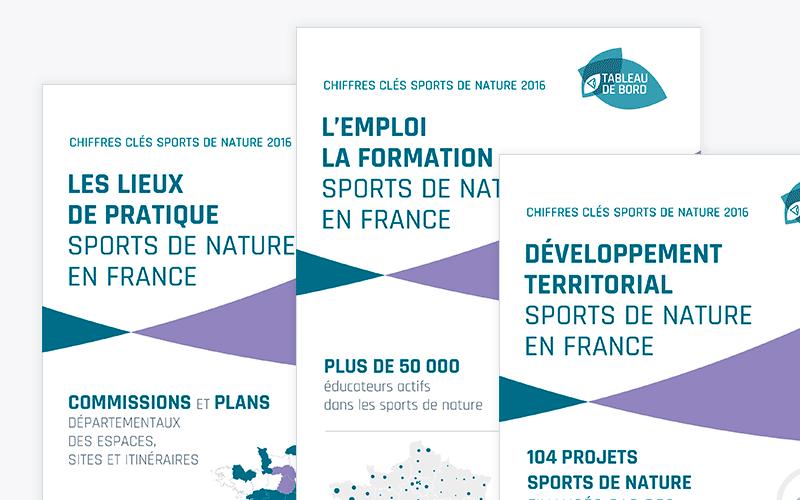Chiffres clés 2016 des sports de nature en France