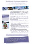 Redevance activités nordiques : pour l'accès aux sites nordiques aménagés dédiés à la pratique des loisirs de neige non motorisés