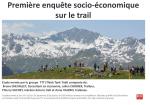 Première enquête socio-économique sur le trail