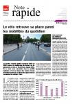 Le vélo retrouve sa place parmi les mobilités du quotidien
