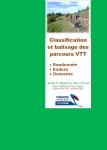 Classification et balisage des parcours VTT : randonnée, enduro, descente