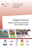 Emploi, métiers et formations dans la filière équine. Rapport national