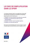 Le choc de simplification dans le sport
