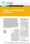 Le sport, d'abord l'affaire des jeunes