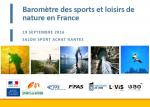 Baromètre des sports et loisirs de nature en France
