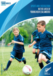 Sport and recreation in the lives of young New Zealanders
