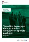 Transition écologique dans les métiers d'éducateurs sportifs nautiques : enquête