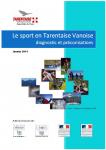 Le sport en Tarentaise Vanoise, diagnostic et préconisations