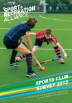 Sports club survey 2013