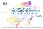 Panorama des éducateurs sportifs déclarés en Corse