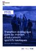 Analyse diplômes 2021 - Transition écologique dans les métiers d'éducateurs sportifs nautiques - application/pdf