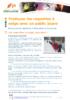 Pratiquer la raquette à neige avec un public jeune - application/pdf