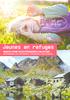 Jeunes en refuges. Dépliant - application/pdf