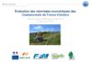 Évaluation des retombées économiques des Championnats de France d'enduro - application/pdf