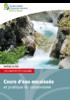 Cours d'eau encaissés et pratique du canyonisme - URL