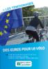 Des euros pour le vélo. Témoignages - application/pdf